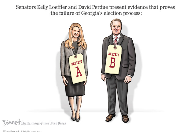 Clay Bennett  Clay Bennett's Editorial Cartoons 2020-11-11 editorial