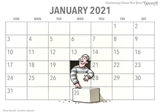Clay Bennett  Clay Bennett's Editorial Cartoons 2020-11-15 editorial
