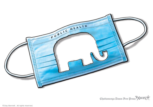 Clay Bennett  Clay Bennett's Editorial Cartoons 2020-11-18 Corona