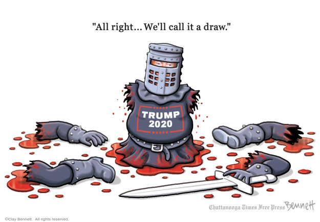 Clay Bennett  Clay Bennett's Editorial Cartoons 2020-11-22 editorial