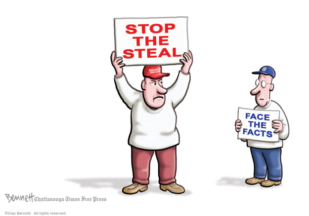 Clay Bennett  Clay Bennett's Editorial Cartoons 2020-11-28 editorial