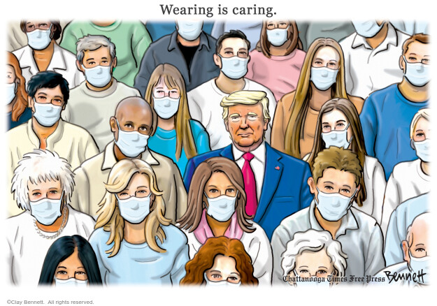 Clay Bennett  Clay Bennett's Editorial Cartoons 2020-12-06 illness