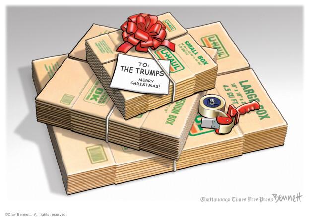 Clay Bennett  Clay Bennett's Editorial Cartoons 2020-12-08 Donald Trump