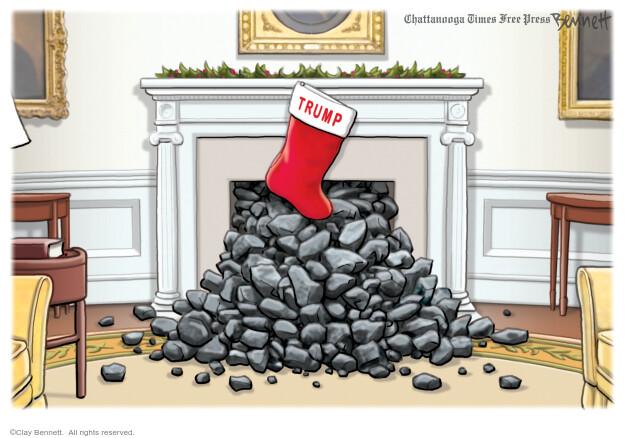 Clay Bennett  Clay Bennett's Editorial Cartoons 2020-12-11 Donald Trump