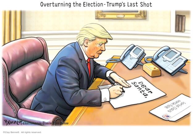 Clay Bennett  Clay Bennett's Editorial Cartoons 2020-12-13 election
