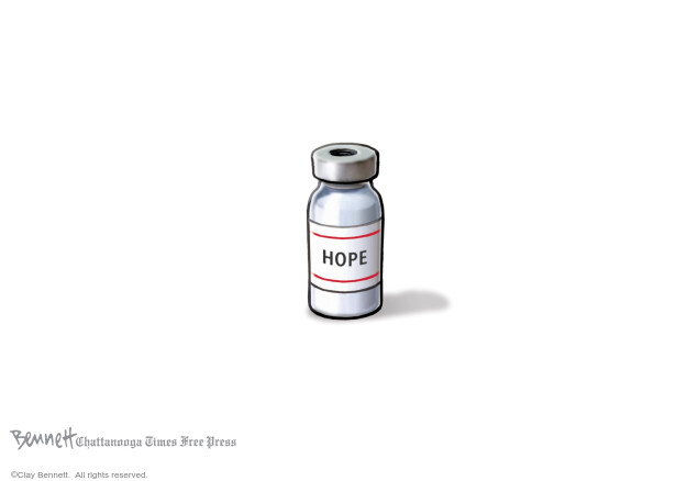 Clay Bennett  Clay Bennett's Editorial Cartoons 2020-12-12 Corona