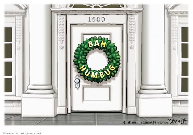Clay Bennett  Clay Bennett's Editorial Cartoons 2020-12-18 Christmas
