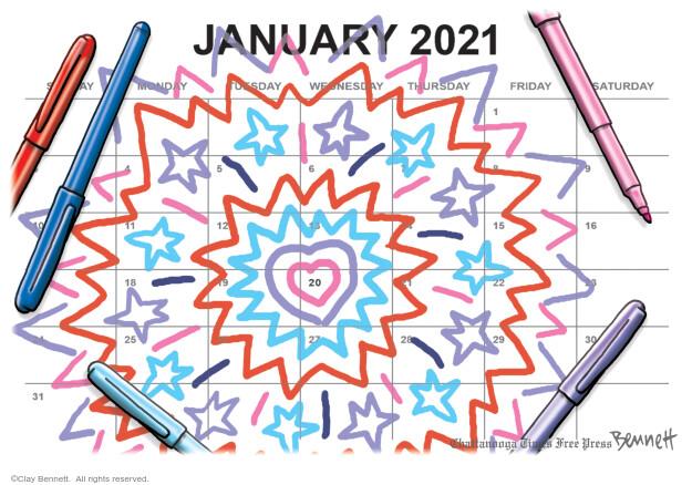 Clay Bennett  Clay Bennett's Editorial Cartoons 2020-12-29 election