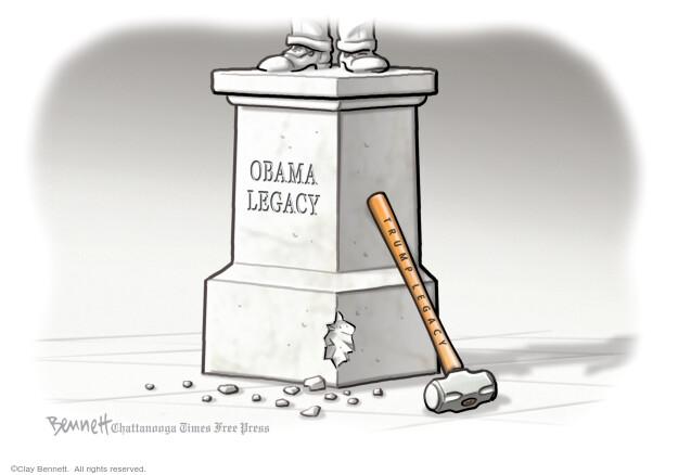 Clay Bennett  Clay Bennett's Editorial Cartoons 2021-01-15 editorial