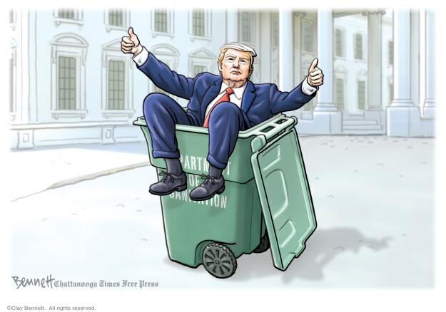 Clay Bennett  Clay Bennett's Editorial Cartoons 2021-01-20 editorial