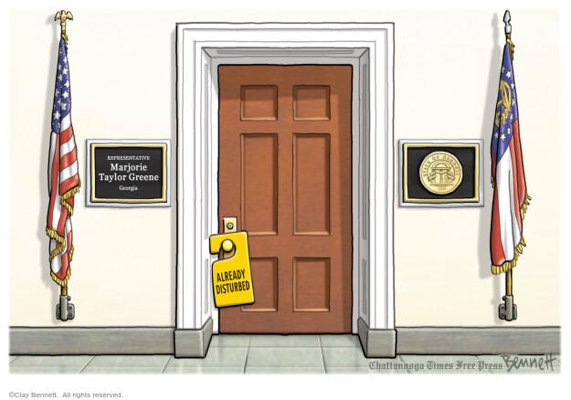 Clay Bennett  Clay Bennett's Editorial Cartoons 2021-02-03 congressional