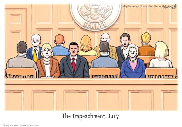 Clay Bennett  Clay Bennett's Editorial Cartoons 2021-02-10 Donald Trump