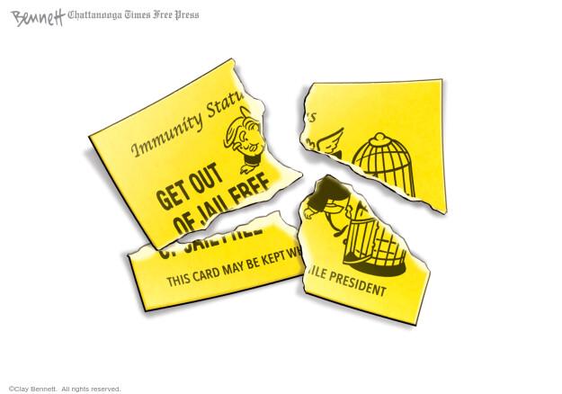 Clay Bennett  Clay Bennett's Editorial Cartoons 2021-02-23 presidential