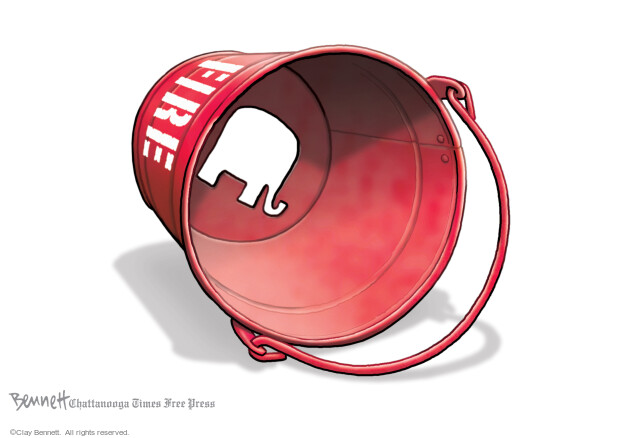 Clay Bennett  Clay Bennett's Editorial Cartoons 2021-03-06 illness