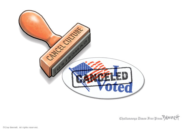 Clay Bennett  Clay Bennett's Editorial Cartoons 2021-03-13 voting rights