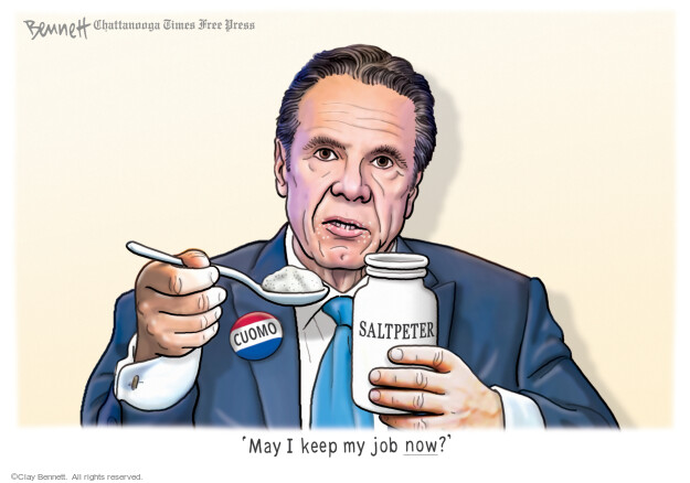 Clay Bennett  Clay Bennett's Editorial Cartoons 2021-03-16 medicine