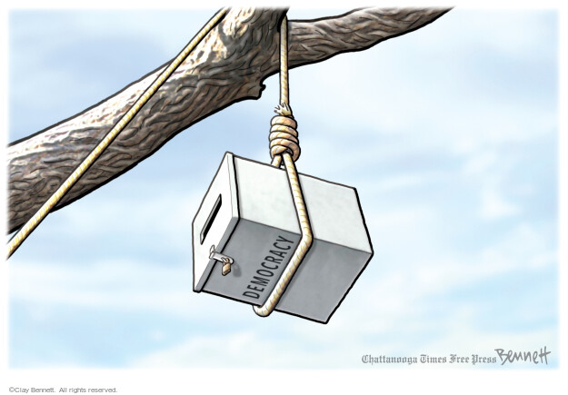 Clay Bennett  Clay Bennett's Editorial Cartoons 2021-03-31 voting rights