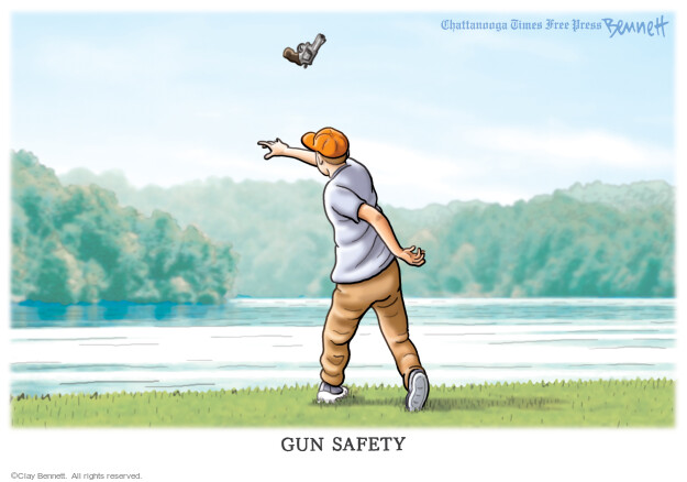 Clay Bennett  Clay Bennett's Editorial Cartoons 2021-04-10 safety