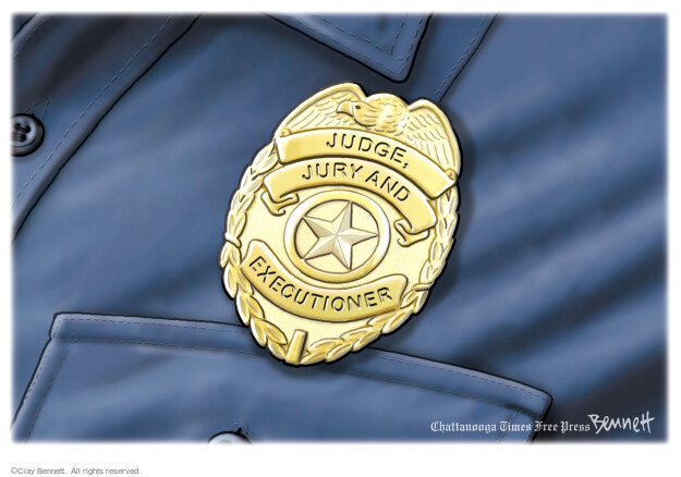 Clay Bennett  Clay Bennett's Editorial Cartoons 2021-04-13 law