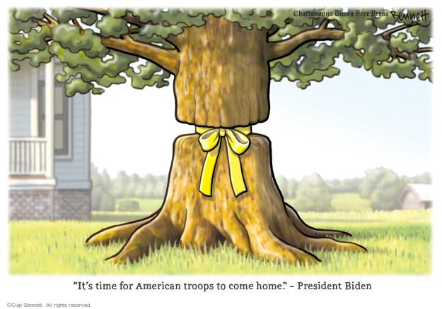Clay Bennett  Clay Bennett's Editorial Cartoons 2021-04-16 president