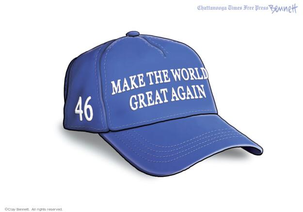 Clay Bennett  Clay Bennett's Editorial Cartoons 2021-04-24 presidential