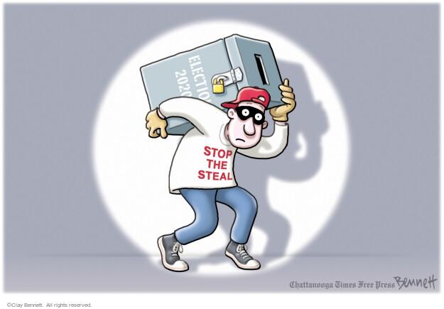 Clay Bennett  Clay Bennett's Editorial Cartoons 2021-05-22 presidential