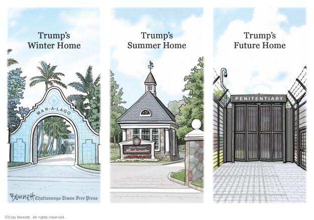 Clay Bennett  Clay Bennett's Editorial Cartoons 2021-05-30 presidential