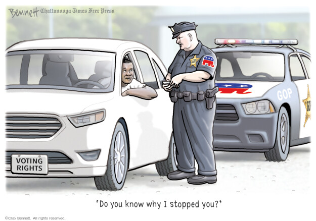 Clay Bennett  Clay Bennett's Editorial Cartoons 2021-06-02 vote