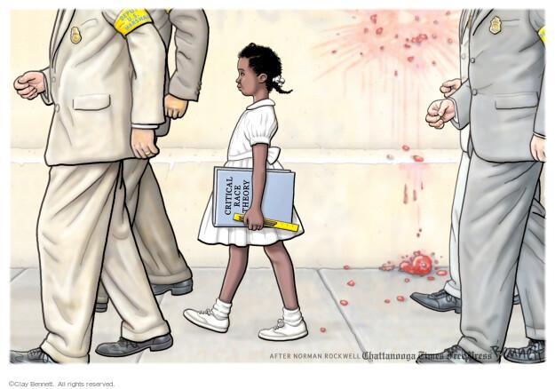 Clay Bennett  Clay Bennett's Editorial Cartoons 2021-06-06 discrimination