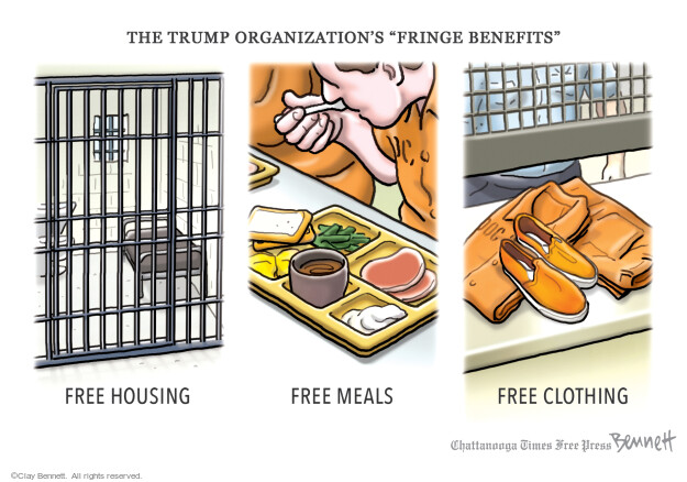 Clay Bennett  Clay Bennett's Editorial Cartoons 2021-07-03 Trump administration