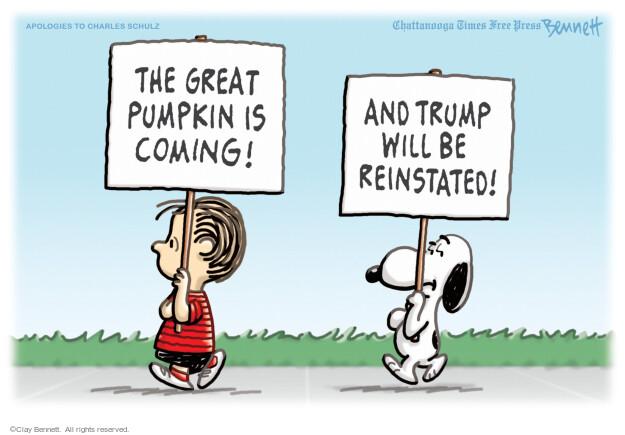 Clay Bennett  Clay Bennett's Editorial Cartoons 2021-07-11 2020 election Donald Trump