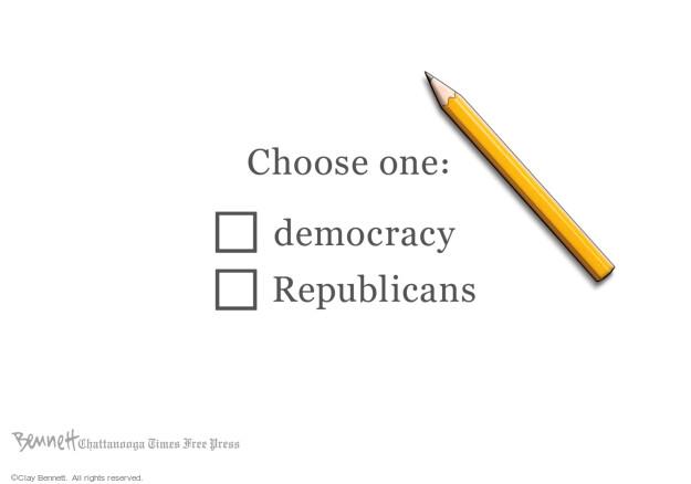 Clay Bennett  Clay Bennett's Editorial Cartoons 2021-07-14 politics