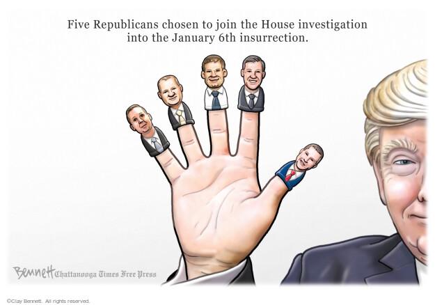 Clay Bennett  Clay Bennett's Editorial Cartoons 2021-07-21 Donald Trump