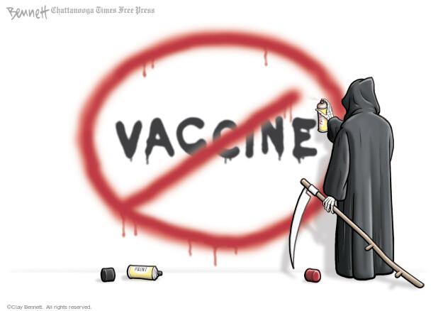 Clay Bennett  Clay Bennett's Editorial Cartoons 2021-07-25 pandemic