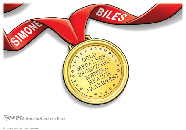 Clay Bennett  Clay Bennett's Editorial Cartoons 2021-08-01 health