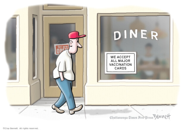 Clay Bennett  Clay Bennett's Editorial Cartoons 2021-08-03 vaccination
