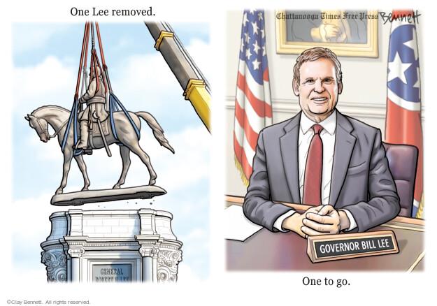 Clay Bennett  Clay Bennett's Editorial Cartoons 2021-09-12 editorial