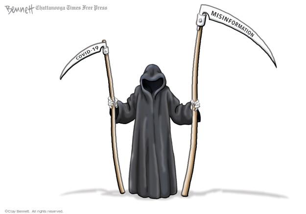 Clay Bennett  Clay Bennett's Editorial Cartoons 2021-09-21 crisis