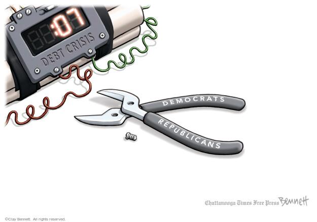 Clay Bennett  Clay Bennett's Editorial Cartoons 2021-09-24 crisis