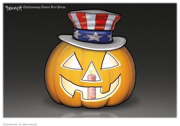 Clay Bennett  Clay Bennett's Editorial Cartoons 2021-10-08 conservative