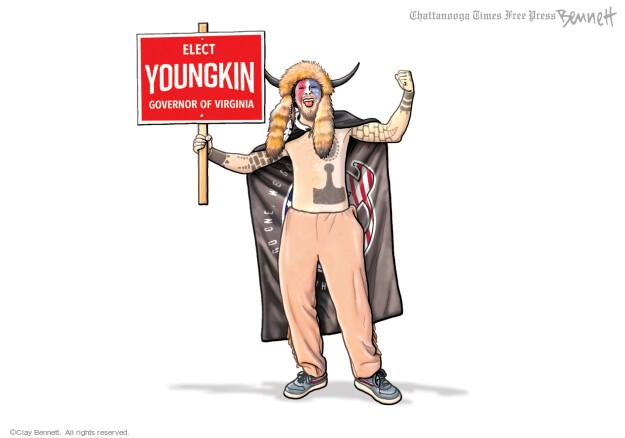 Clay Bennett  Clay Bennett's Editorial Cartoons 2021-10-20 candidate