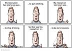 Cartoonist Clay Bennett  Clay Bennett's Editorial Cartoons 2008-01-03 more