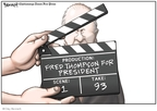 Cartoonist Clay Bennett  Clay Bennett's Editorial Cartoons 2008-01-05 2008 primary