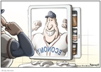 Cartoonist Clay Bennett  Clay Bennett's Editorial Cartoons 2008-01-16 professional