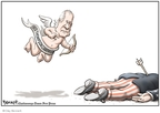 Cartoonist Clay Bennett  Clay Bennett's Editorial Cartoons 2008-01-17 2008 primary