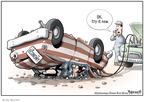 Cartoonist Clay Bennett  Clay Bennett's Editorial Cartoons 2008-01-19 stimulus