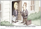 Cartoonist Clay Bennett  Clay Bennett's Editorial Cartoons 2008-01-22 2008 primary