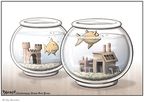 Cartoonist Clay Bennett  Clay Bennett's Editorial Cartoons 2008-01-27 animal welfare