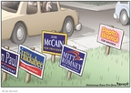Cartoonist Clay Bennett  Clay Bennett's Editorial Cartoons 2008-02-02 2008 primary