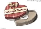 Cartoonist Clay Bennett  Clay Bennett's Editorial Cartoons 2008-02-14 lie